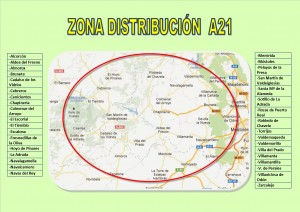 zona distribución