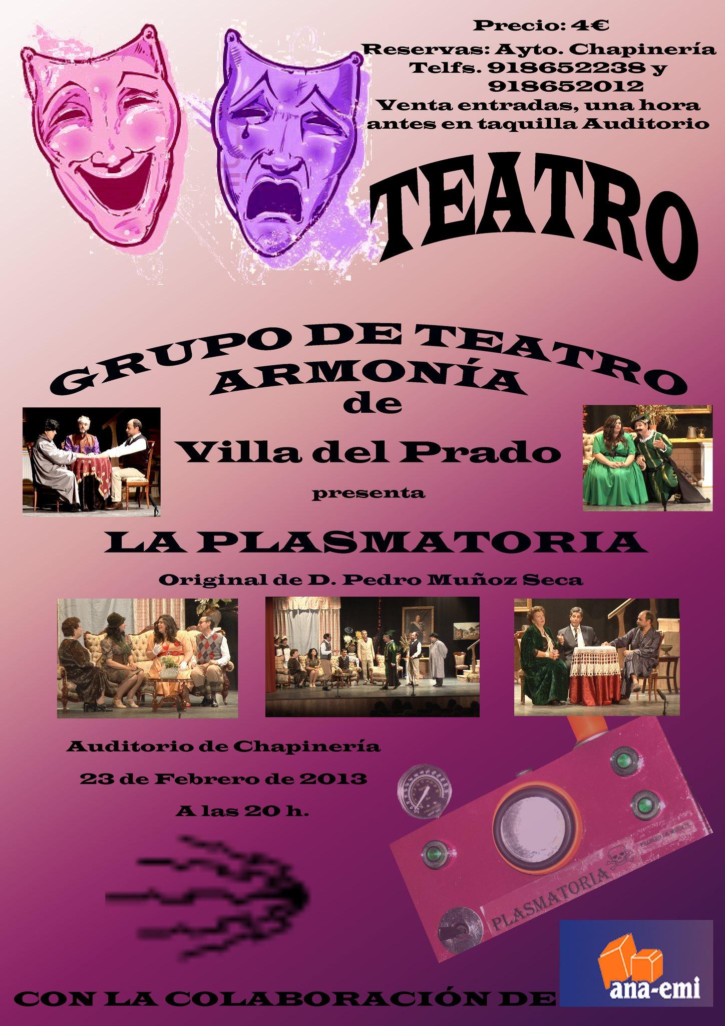 """Nueva oportunidad de disfrutar con """"La Plasmatoria"""""""