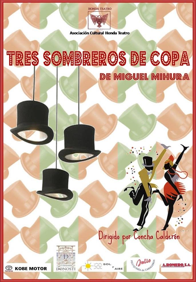 Tres sombreros de copa  en San Martín de Valdeiglesias  aa256a1eac2