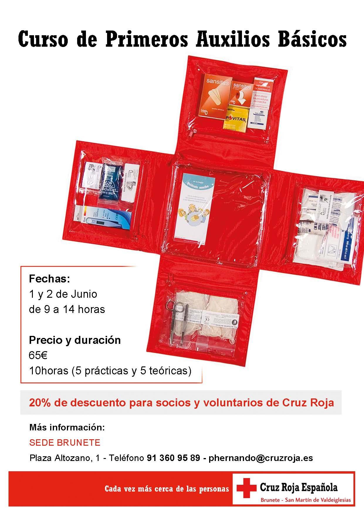 Curso de primeros auxilios básicos de Cruz Roja  ba3dcf73fb9
