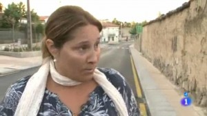 Marifeli Puentes durante su entrevista a Comando Actualidad de TVE1