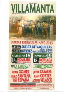carteltoros Villamanta 2013