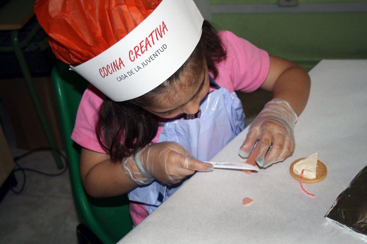 Se prorroga el taller de cocina creativa para ni os de for Cocina creativa para ninos