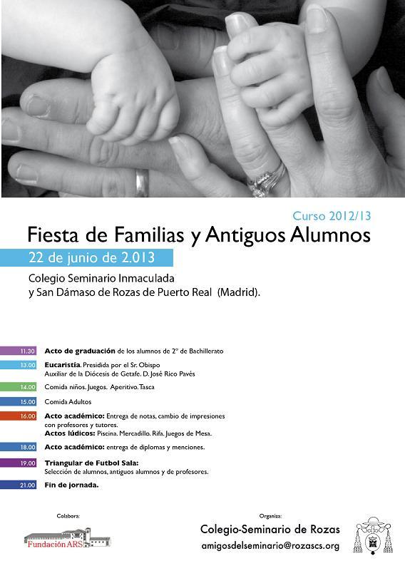 Fiesta De Familias Y Antiguos Alumnos Del Seminario De Rozas De