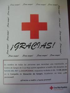 AGRADECIMIENTO CRUZ ROJA ESPAÑOLA