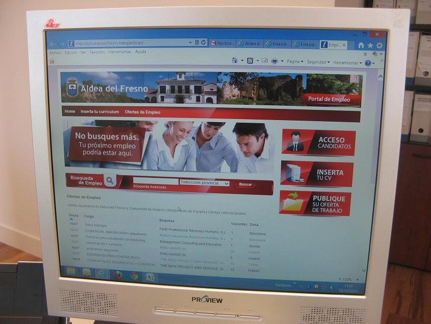 Aldea del fresno apuesta por el empleo a21 peri dico for Portal empleo madrid