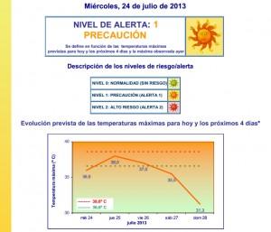 precaucion calor