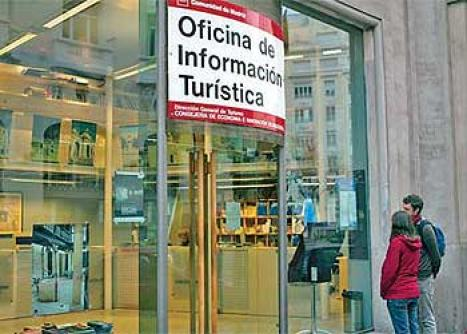 Las oficinas de turismo de la comunidad de madrid reciben for Oficinas de allianz en madrid