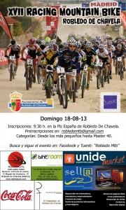 Cartel XVII Racing Mtb Robledo de Chavela