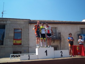 Podium categoria Elite 2013