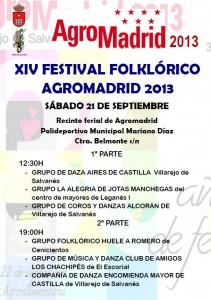 cartel festival folklorico