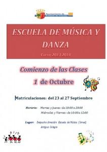 escuela de musica 2013 2014