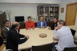 Reunión trabajo con Cruz Roya y Fundación José Tomás