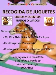 COMCE RECOGIDA JUGUETES