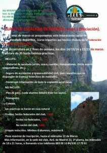 CURSO ESCALADA ALL MOUNTAIN CLUB
