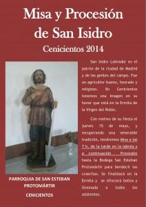 CARTEL SAN ISIDRO 2014