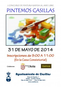 CartelPinturaCasillas2014