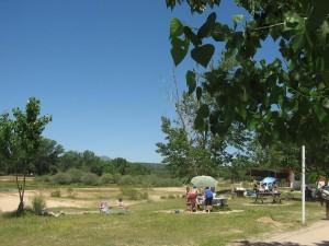 El río Alberche en Aldea del Fresno cerrará sus barbacoas.