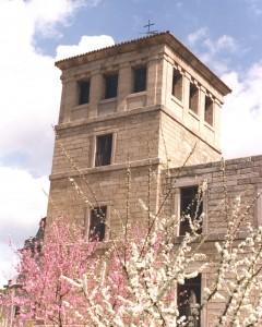 Torre herreriana del monasterio de Santa María de Valdeiglesias -Pelayos de la Presa-.
