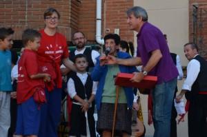 Milagros Herradón fue proclamada Madrina de las Fiestas.
