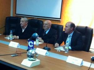 José María Suárez, Fernando García de la Vega y Ángel Luis Alonso.
