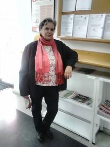"""Luisa María San Martín, presidenta ´de la Asociación """"Los Chapines""""."""