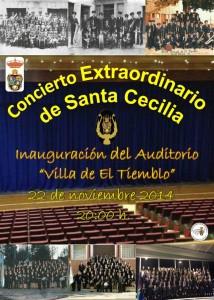 Inauguración Auditorio de El Tiemblo