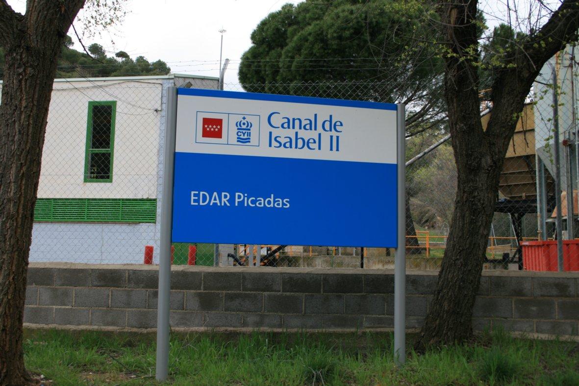 El canal de isabel ii renuncia a construir una nueva edar for Oficinas canal isabel ii madrid
