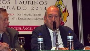 Carlos Abella, Director Gerente del Centro de Asuntos Taurinos de la Comunidad.