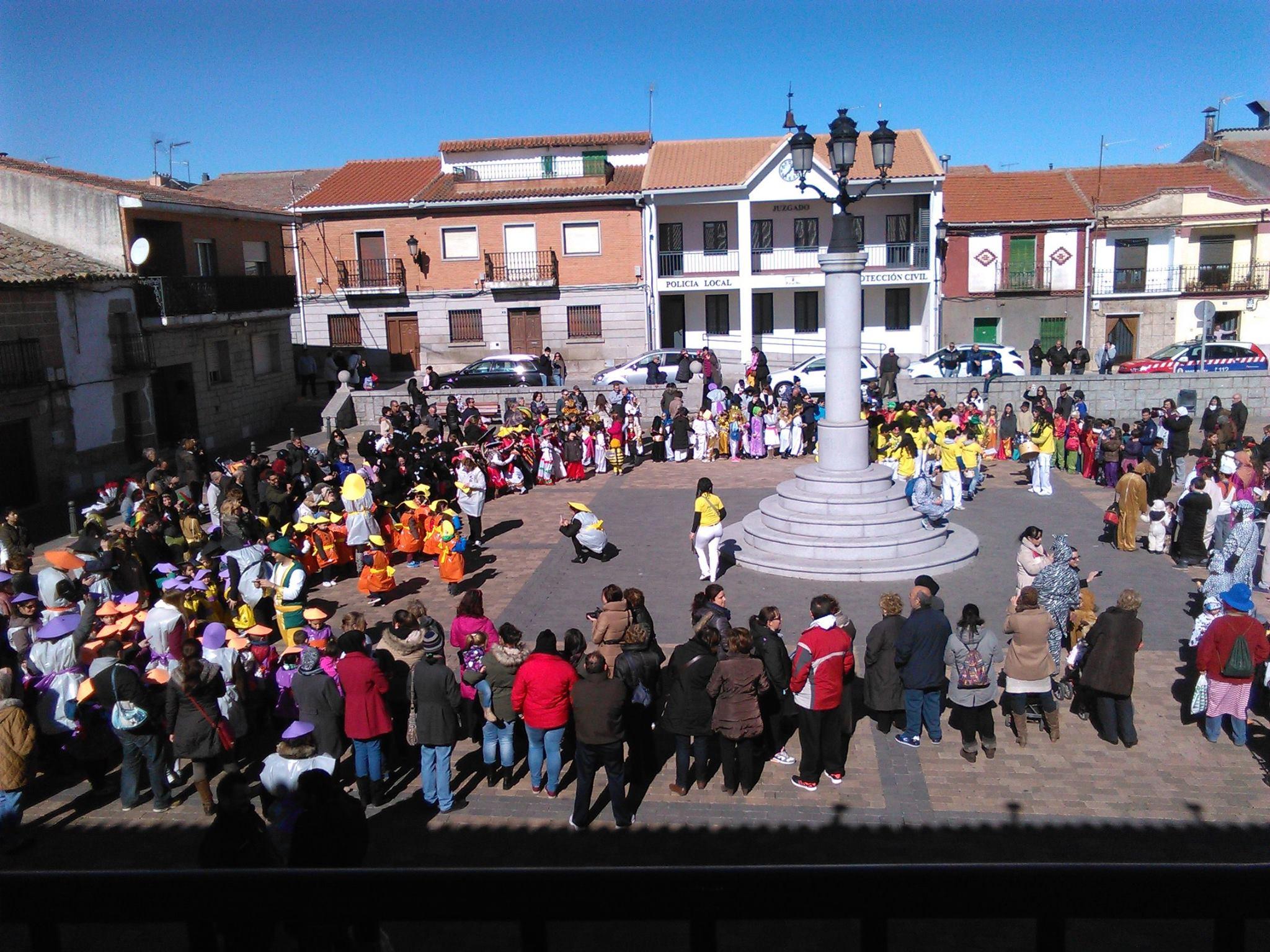 Navas del rey celebr su carnaval a21 peri dico gratuito - Pavimarsa navas del rey ...