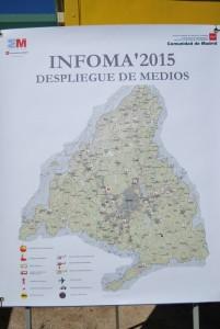Plano medios forestales disponibles en Comunidad de madrid