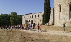 Visitas Monasterio de Santa María la Real de Pelayos de la Presa.  (1)