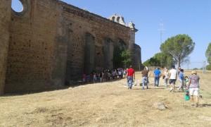 Visitas Monasterio de Santa María la Real de Pelayos de la Presa.  (2)