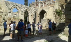 Visitas Monasterio de Santa María la Real de Pelayos de la Presa.  (4)