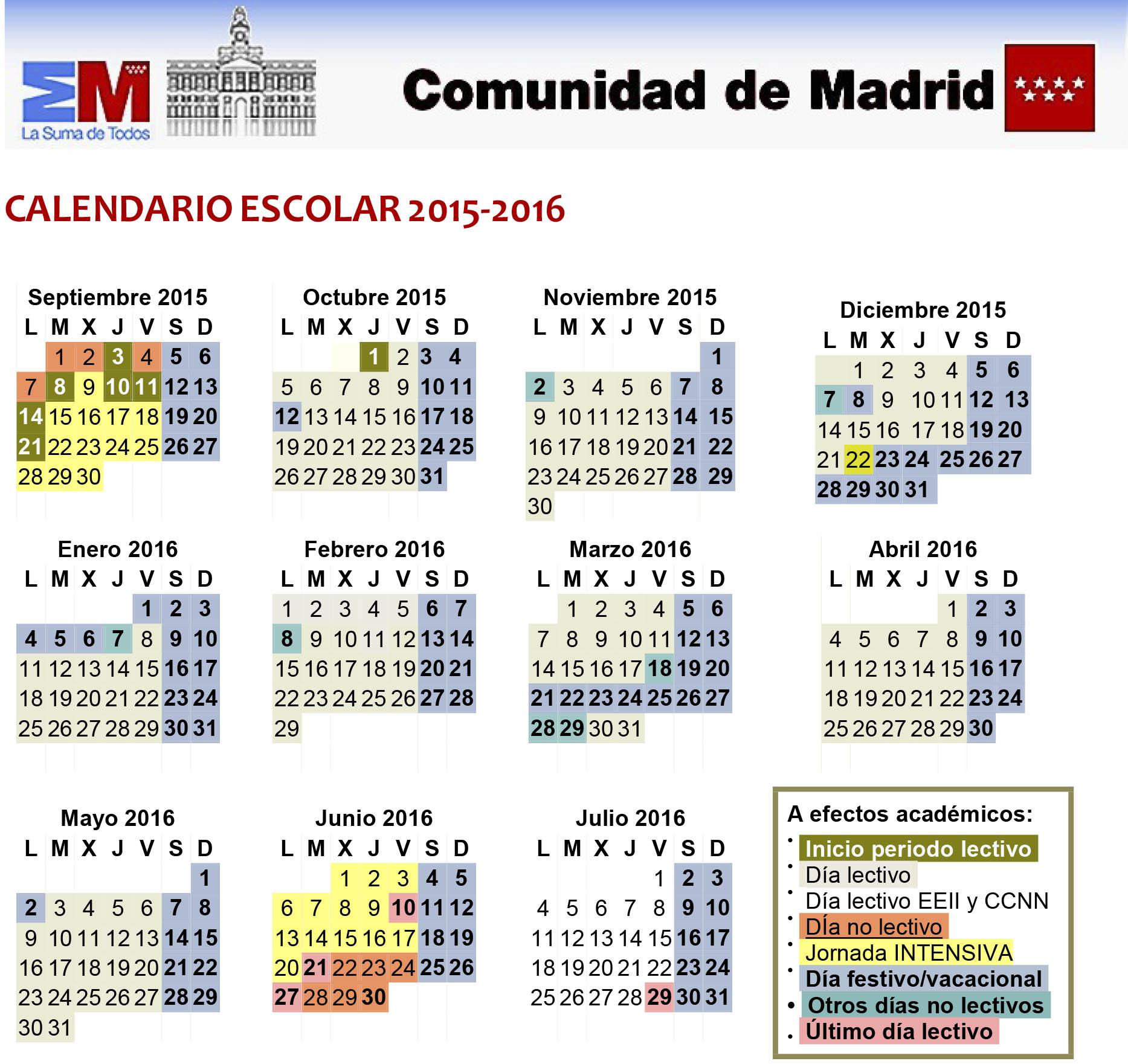 Comienza el curso escolar en la comunidad de madrid a21 for Curso de escaparatismo madrid