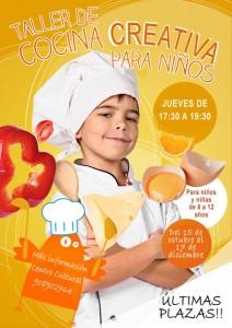 Taller cocina creativa infantil br