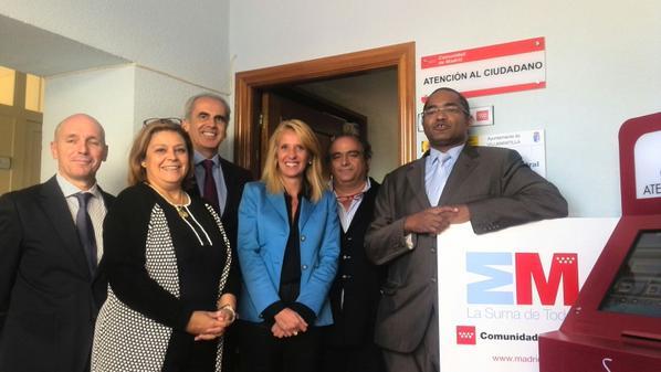 Villamantilla cuenta ya con su oficina de atenci n al for Oficinas atencion al ciudadano madrid