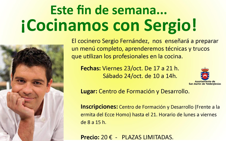 Cocina Con Sergio Fines De Semana | Taller De Cocina Con El Cocinero De Tve Sergio Fernandez En San
