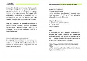 CONCURSO MICRORRELATOS BASES 1