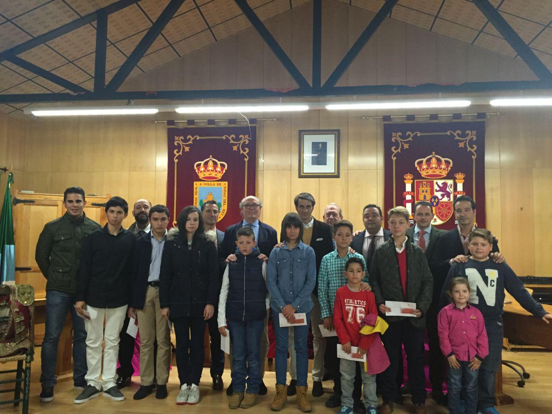 Inauguraci n de la escuela taurina de navas del rey a21 - Pavimarsa navas del rey ...