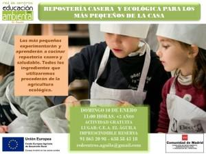 10 Enero Reposteria niños