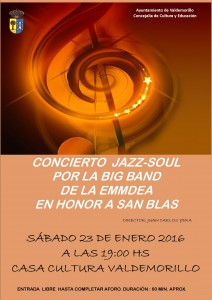 CONCIERTO DE LA BIB BAND SAN BLAS 2016