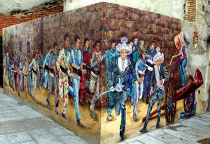 mural vaquilla 2