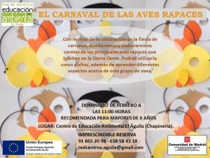 7 FEBRERO- EL CARNAVAL DE LAS AVES RAPACES