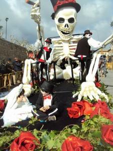 La santa muerte mejicana.