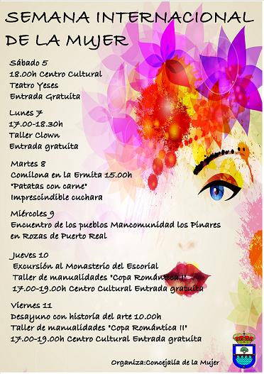 Semana Internacional De La Mujer En Aldea Del Fresnoa21 Periodico
