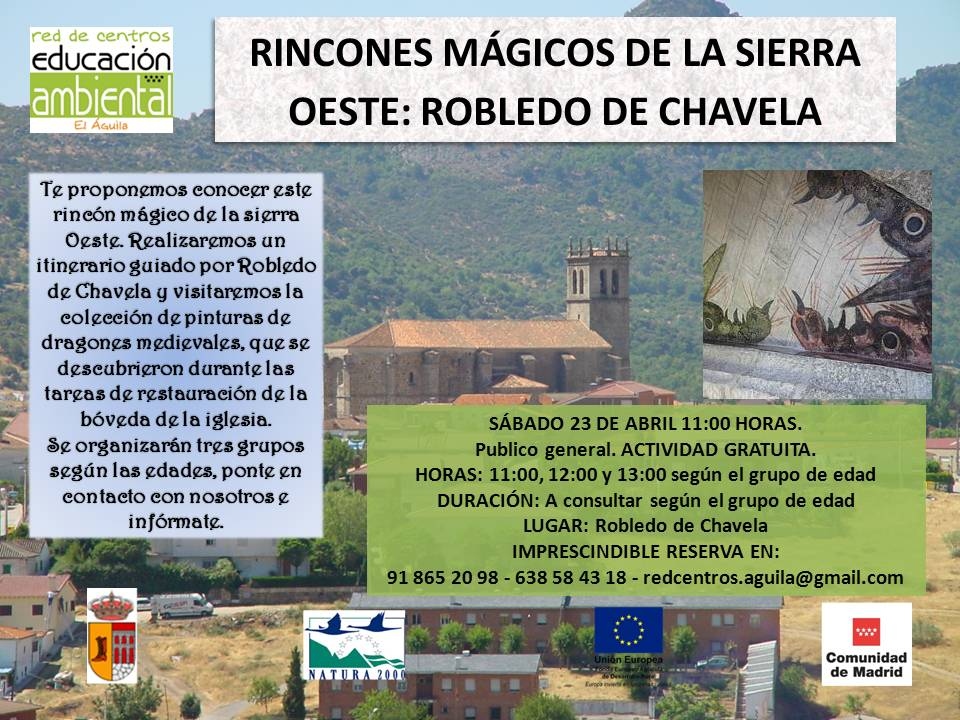 RINCONES MAGICOS, ROBLEDO 23 DE ABRIL