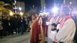 El obispo de Getafe presidió el acto.
