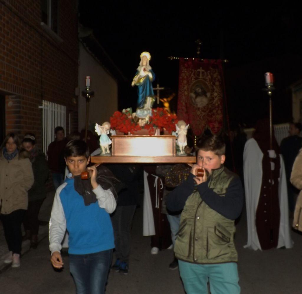 Virgen de los niños.