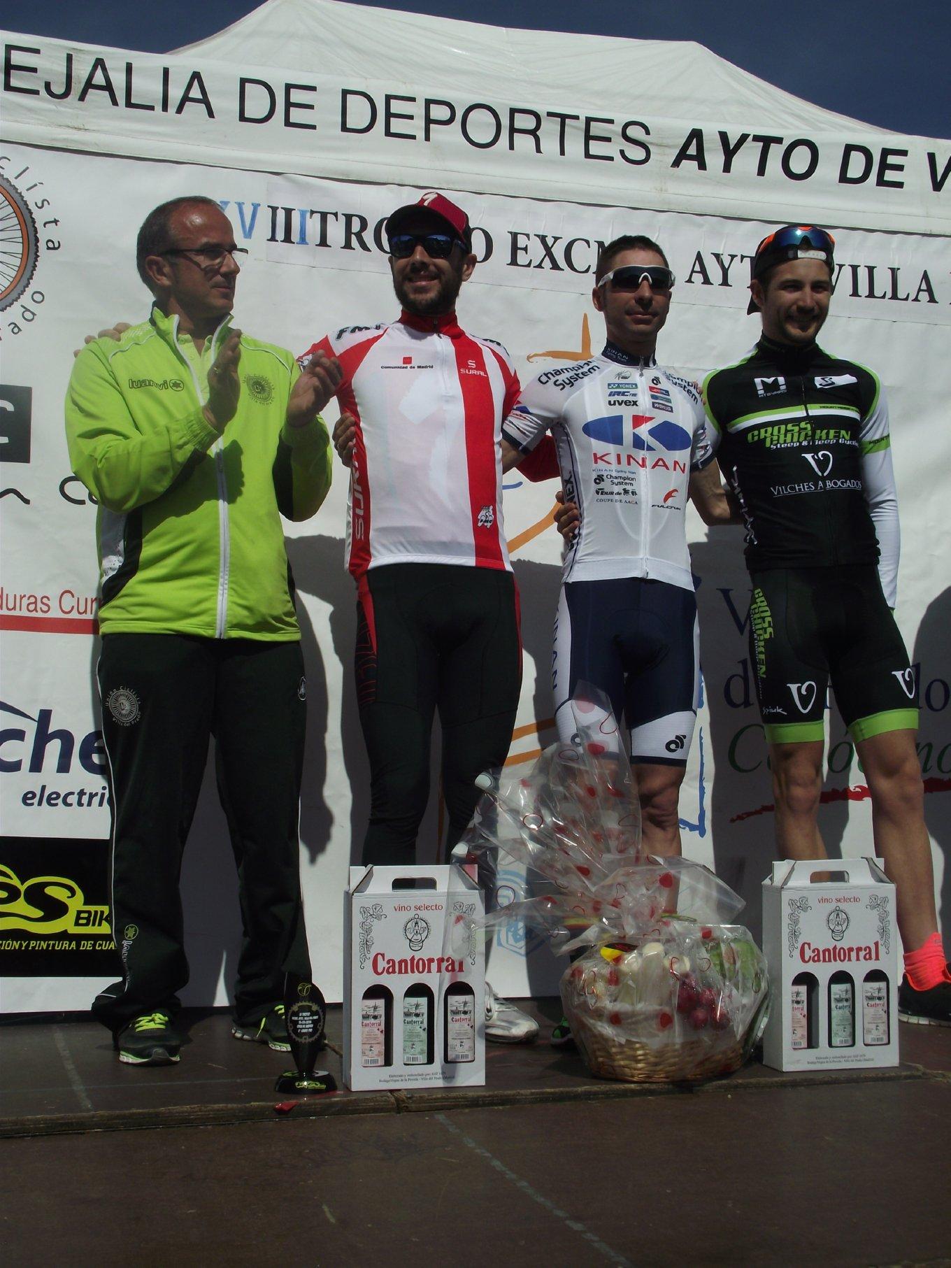 XCO V.del Prado 2016.Carrión podio 1